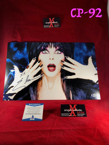 CP_92 - 11x17 Photo Autographed By Elvira