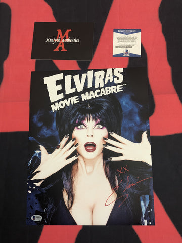 CP_245 - 11x14 Photo Autographed By Elvira