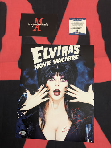 CP_246 - 11x14 Photo Autographed By Elvira