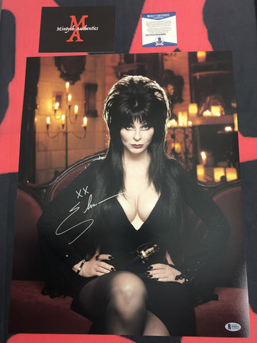 CP_254 - 16x20 Photo Autographed By Elvira