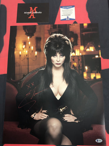 CP_255 - 16x20 Photo Autographed By Elvira