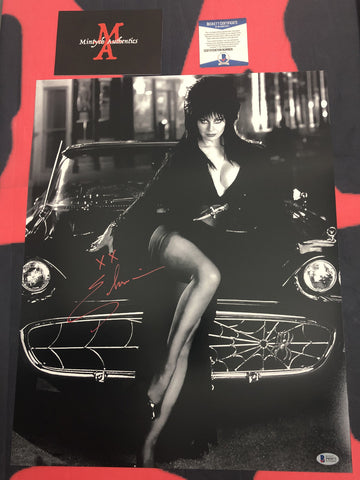 CP_256 - 16x20 Photo Autographed By Elvira