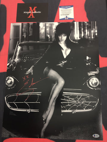 CP_257 - 16x20 Photo Autographed By Elvira