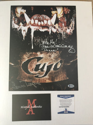 CUJO_02 - 11x14 Photo Autographed By Dee Wallace, Danny Pintauro & Lewis Teague