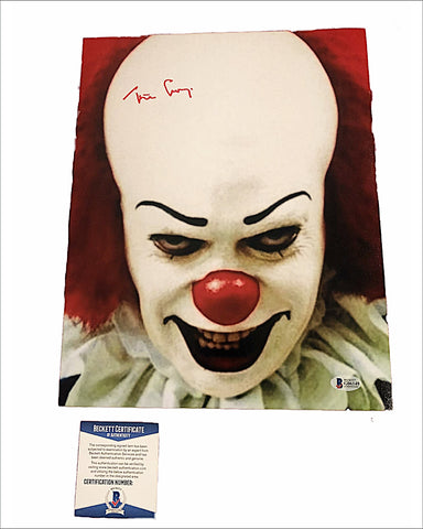 Tim Curry Autographed Photo - Pennywise from IT