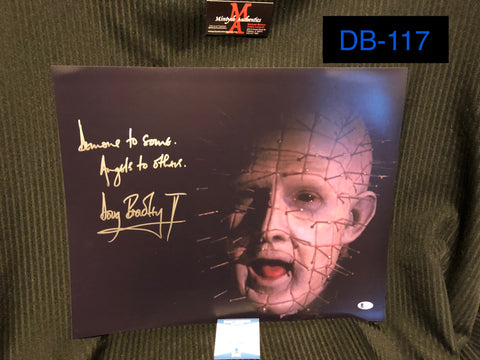 DB_117 - 16x20 Photo Autographed By Doug Bradley