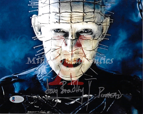 DB_192 - 8x10 Photo Autographed By Doug Bradley