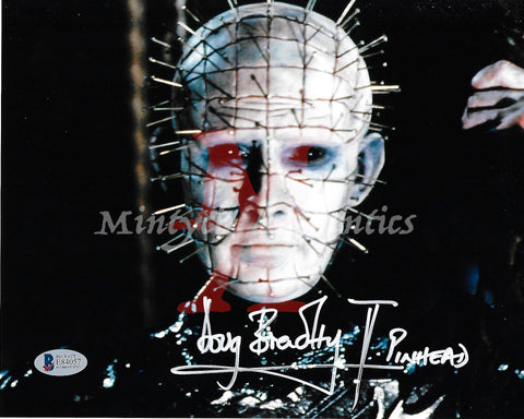 DB_198 - 8x10 Photo Autographed By Doug Bradley