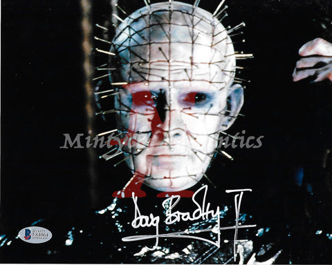 DB_200 - 8x10 Photo Autographed By Doug Bradley