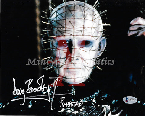 DB_201 - 8x10 Photo Autographed By Doug Bradley