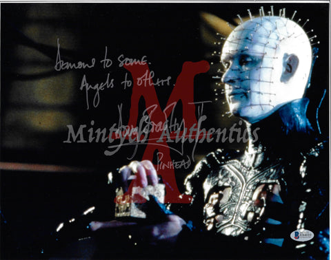 DB_210 - 11x14 Photo Autographed By Doug Bradley