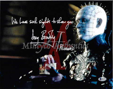 DB_212 - 11x14 Photo Autographed By Doug Bradley