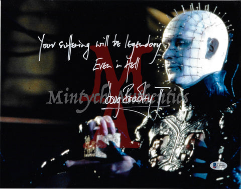 DB_222 - 11x14 Photo Autographed By Doug Bradley