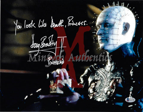 DB_227 - 11x14 Photo Autographed By Doug Bradley