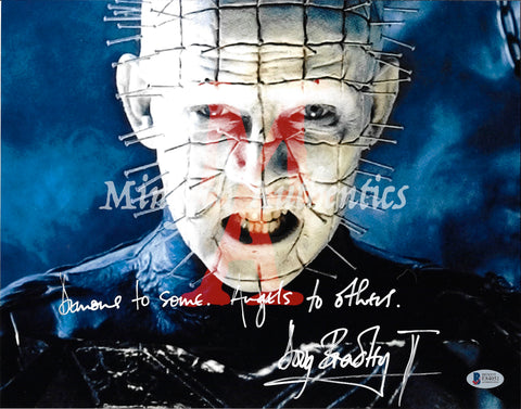 DB_240 - 11x14 Photo Autographed By Doug Bradley