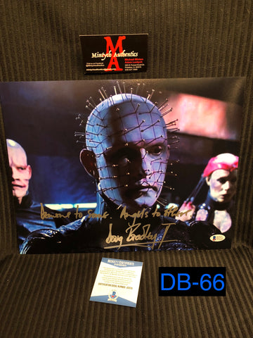 DB_66 - 11x14 Photo Autographed By Doug Bradley