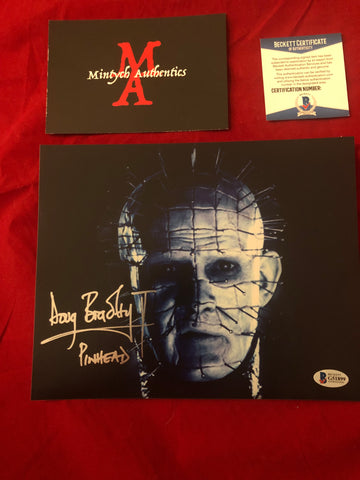DB_248 - 8x10 Photo Autographed By Doug Bradley