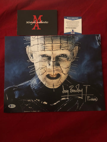 DB_256 - 11x14 Photo Autographed By Doug Bradley