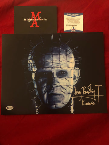 DB_257 - 11x14 Photo Autographed By Doug Bradley