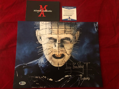DB_264 - 11x14 Photo Autographed By Doug Bradley