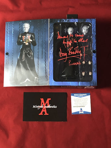 DB_301 - Pinhead Ultimate Neca Figure Autographed By Doug Bradley