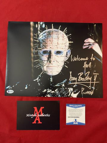 DB_377 - 11x14 Photo Autographed By Doug Bradley
