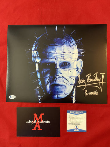 DB_379 - 11x14 Photo Autographed By Doug Bradley