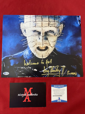 DB_387 - 11x14 Photo Autographed By Doug Bradley