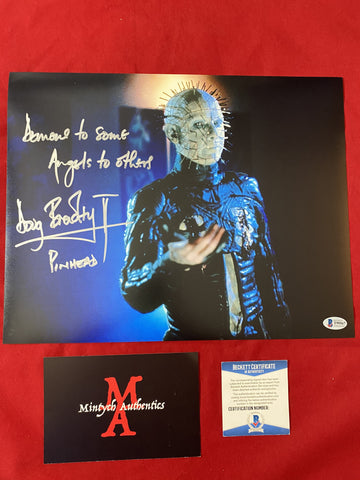 DB_389 - 11x14 Photo Autographed By Doug Bradley