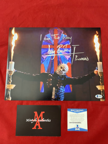DB_391 - 11x14 Photo Autographed By Doug Bradley