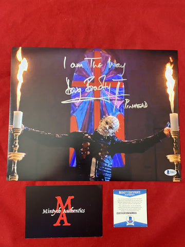 DB_392 - 11x14 Photo Autographed By Doug Bradley
