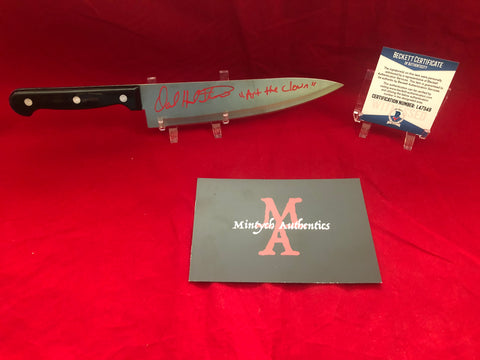 "DHT_174 - 8"" Knife Autographed By David Howard Thornton"