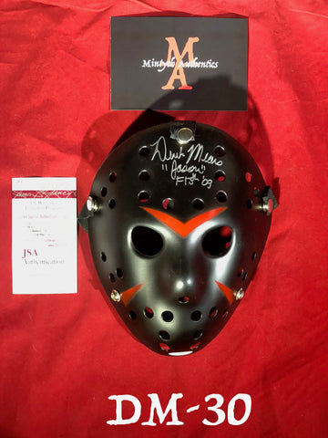 DM_30 - Jason Mask Autographed By Derek Mears