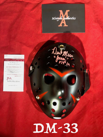 DM_33 - Jason Mask Autographed By Derek Mears