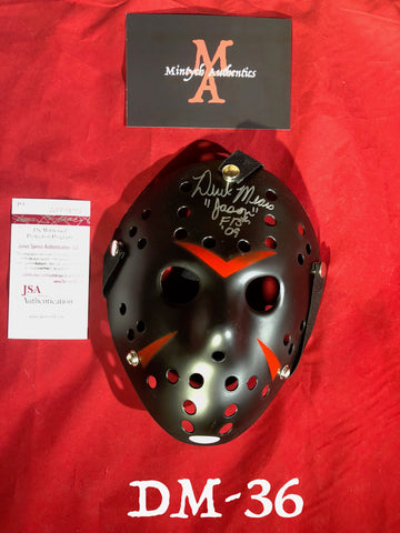 DM_36 - Jason Mask Autographed By Derek Mears