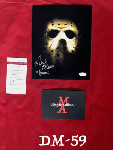 DM_59 - 8x10 Photo Autographed By Derek Mears