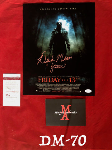 DM_70 - 11x14 Photo Autographed By Derek Mears