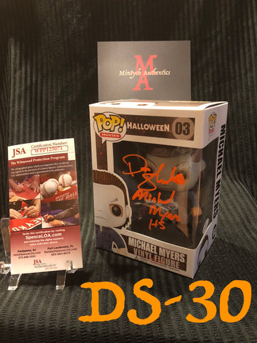 DS_30 - Michael Myers Funko Pop! Autographed By Don Shanks