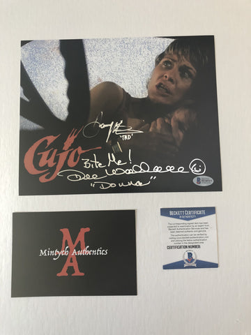 DWDP_08 - 8x10 Photo Autographed By Dee Wallace & Danny Pintauro