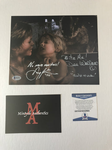 DWDP_09 - 8x10 Photo Autographed By Dee Wallace & Danny Pintauro