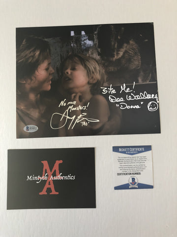 DWDP_10 - 8x10 Photo Autographed By Dee Wallace & Danny Pintauro