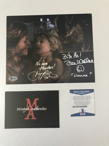 DWDP_11 - 8x10 Photo Autographed By Dee Wallace & Danny Pintauro