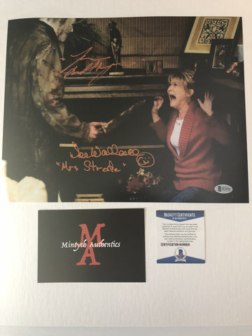 DWTM_10 - 11x14 Photo Autographed By Dee Wallace & Tyler Mane