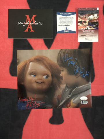 EDAN_007 - 8x10 Photo Autographed By Edan Gross & Alex Vincent