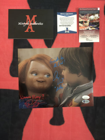 EDAN_008 - 8x10 Photo Autographed By Edan Gross & Alex Vincent