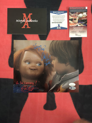 EDAN_010 - 8x10 Photo Autographed By Edan Gross & Alex Vincent