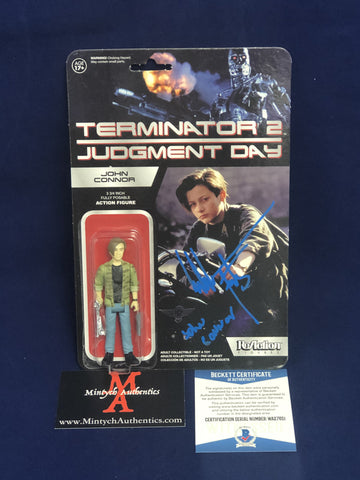 FURLONG_042 - John Connor   ReAction Figure Autographed By Edward Furlong