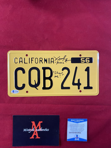 GORDON_005 - Christine  License Plate Autographed By Keith Gordon