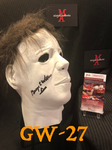 GW_27 - Michael Myers Mask Autographed By George Wilbur