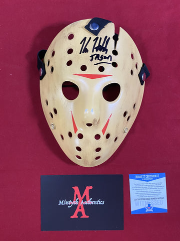 HODDER_401 - Jason Voorhees Part VIII Custom 13X Studios Mask Autographed By Kane Hodder